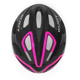 Rudy Project Strym Helmet black/pink fluo shiny